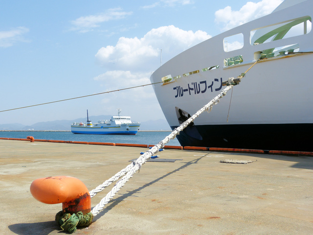 船の係留の方法・やり方・手順や使い方