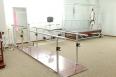 Bar track walk physiotherapy unit
