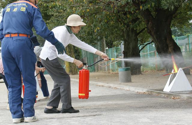 消火訓練の方法・やり方・手順や使い方・流れなどについて