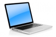 Aluminum laptop