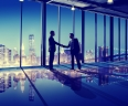 Business People Hand Shake Office City Concept